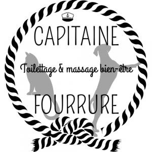 logo capitaine fourrure toilettage la Rochelle